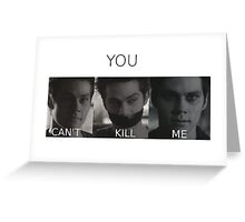 Void Stiles Greeting Card