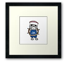 Characters - Walrus Framed Print