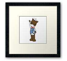 Characters - Horse Framed Print