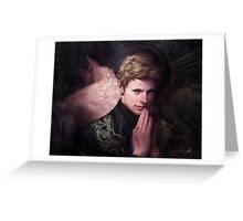 BBC Merlin: In the Name of the Father Greeting Card