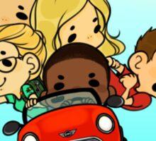Team Arrow Goes: Road trip!  Sticker