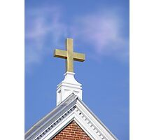 The Cross ~ A Powerful and Simple Reminder of Christ's Love Photographic Print