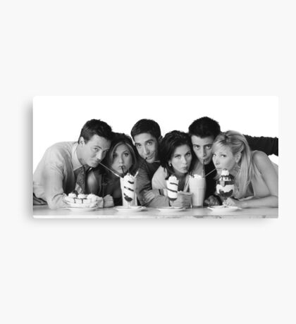 Friends Shop Canvas Print