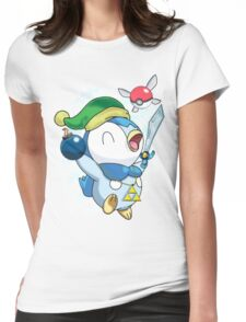 Pokemon Link Piplup Womens Fitted T-Shirt