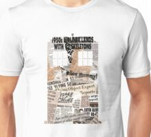 Doctor Who - TARDIS newspaper articles Unisex T-Shirt