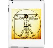 Vitruvian Man Mono Haze iPad Case/Skin