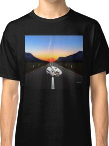 THE BROKEN MASK ON THE ROAD Classic T-Shirt
