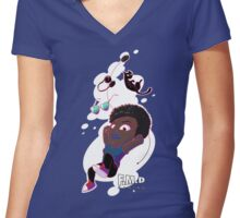 FMD Gaming: Briggs Women's Fitted V-Neck T-Shirt