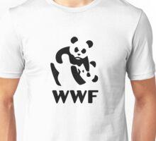 wwf cartoon panda Unisex T-Shirt