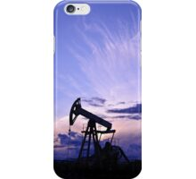 Pump jack. iPhone Case/Skin