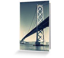 Under the Bay Bridge Greeting Card