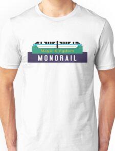 Monorail Magic Kingdom Sign Unisex T-Shirt