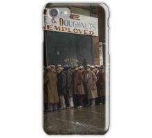 Al Capone's Soup Kitchen, Chicago, 1931 iPhone Case/Skin