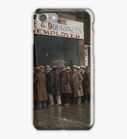Al Capone's Soup Kitchen, Chicago, 1931 iPhone Case/Skin