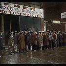 Al Capone's Soup Kitchen, Chicago, 1931 by Dana Keller