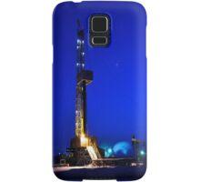 Drilling Rig at Night Samsung Galaxy Case/Skin