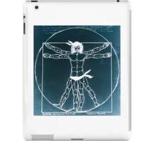 Vitruvian Man Mono Rev (WITH scarves) iPad Case/Skin