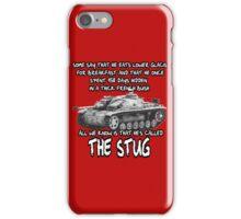 Stug WW2 tank destroyer T shirt iPhone Case/Skin