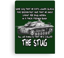 Stug WW2 tank destroyer T shirt Canvas Print