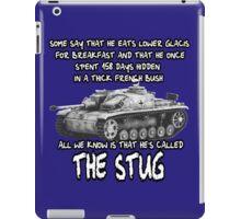 Stug WW2 tank destroyer T shirt iPad Case/Skin