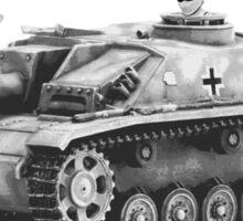 Stug WW2 tank destroyer T shirt Sticker