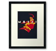 The Little Maestro - Blaugrana Framed Print