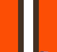 Cleveland Browns Helmet Stripe by topkartracer