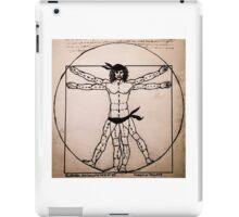 Vitruvian Man Mono (WITH scarves) iPad Case/Skin