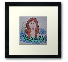 The Water Sprite Framed Print