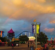 Cedar Point - Midway by SRowe Art