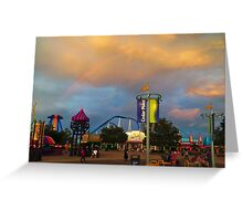 Cedar Point - Midway Greeting Card