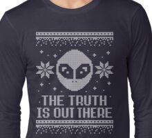 The X-Files Holiday Sweater - The Truth Is Out There Long Sleeve T-Shirt