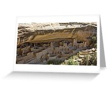 Cliff House at Mesa Verde Greeting Card