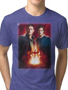 Sam And Dean Supernatural Tri-blend T-Shirt