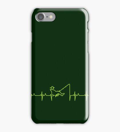 My heart beats for fishing (green) VRS2 iPhone Case/Skin