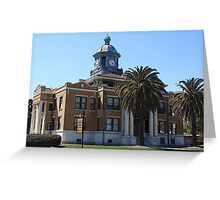 Courthouse - Inverness, Florida Greeting Card