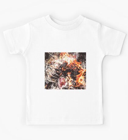 Colorful Sketch Abstract Art Kids Tee