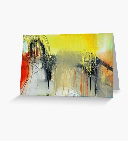 Golden Rain Greeting Card