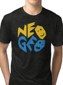 Neo Geo Logo Tri-blend T-Shirt