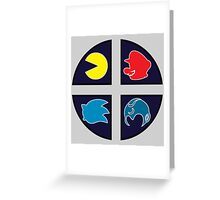 Video Game Icons Greeting Card