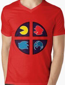 Video Game Icons Mens V-Neck T-Shirt