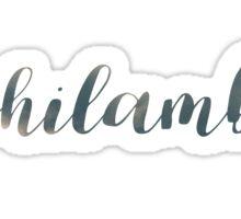 Phi Lamb Sticker