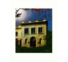 The House on the Hill Art Print