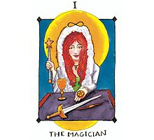 I - The Magician Photographic Print