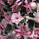 Christmas Tree Decorations - Pink by wiggyofipswich