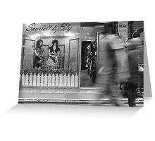 Scarlett & Sly Greeting Card