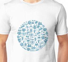 User a circle Unisex T-Shirt