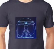 Vitruvian Man Mono Rev Unisex T-Shirt