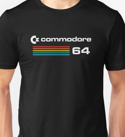 Commodore 64 Retro Computer Unisex T-Shirt