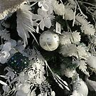 Christmas Tree Decorations - White by wiggyofipswich